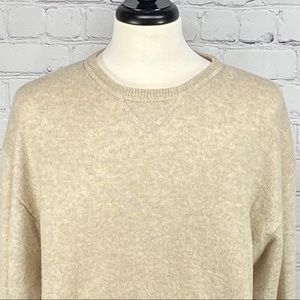 Geoffrey Beene cashmere wool blend sweater